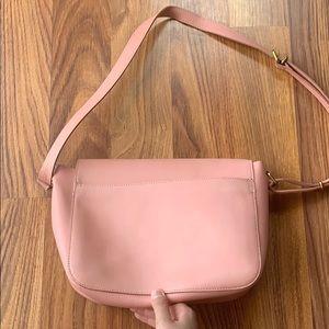 Madewell Bags - Madewell blush leather abroad bag NWT